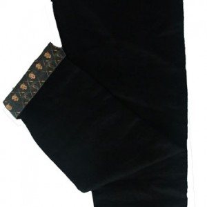 blacklinen trousers front