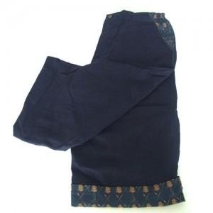 blue linen shorts1