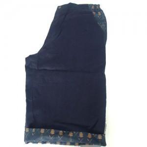 blue linen shorts3